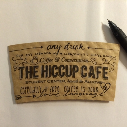 Pay It Forward Coffee Sleeve